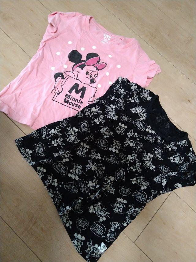 ミニーマウス ユニクロ 半袖Tシャツ 100