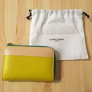 新品 正規品 ツモリチサト コインケース 財布 バイカラー