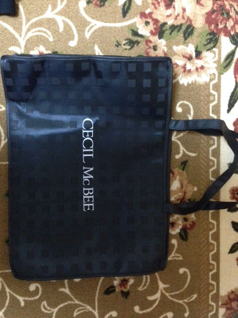 CECIL McBEE シンプルバック 袋のみ