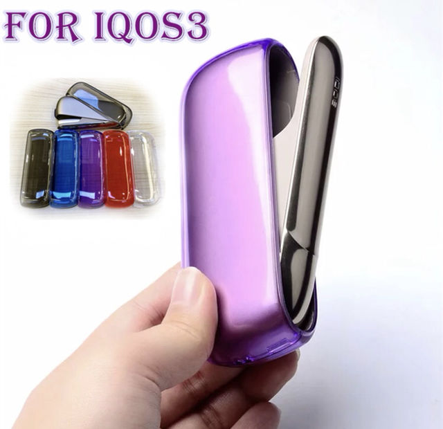 iQOS3 ハードケース 透明 5色 - フリマアプリ&サイトShoppies[ショッピーズ]