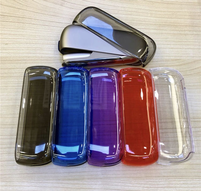 iQOS3 ハードケース 透明 5色