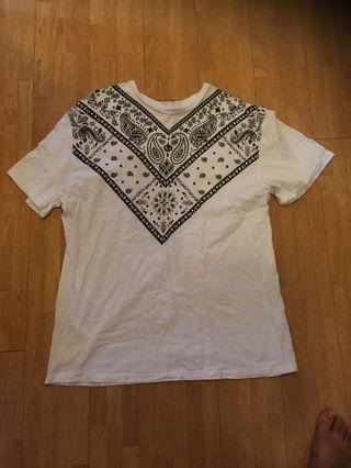 ペイズリー柄BigTシャツ