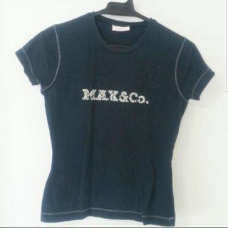Max&Co ブラックTシャツ