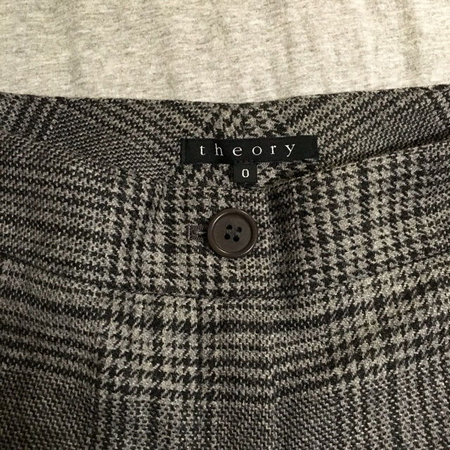 S size : theory  チェック柄スラックス