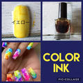 color ink  yellow