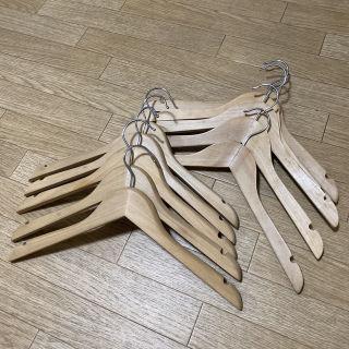 木製ハンガー 10本セット