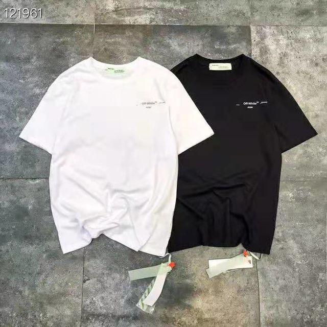 オフホワイト 男女兼用 半袖Tシャツ 人気新作