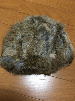 AZULファー帽子
