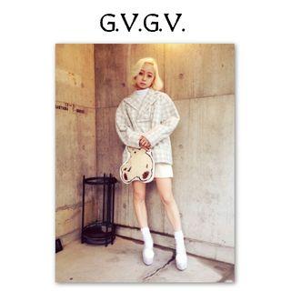 g.v.g.v チェック プルオーバー ジャケット トップス