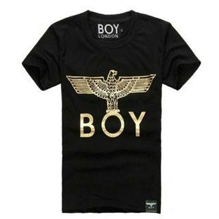 ボーイロンドン Tシャツ 黒金