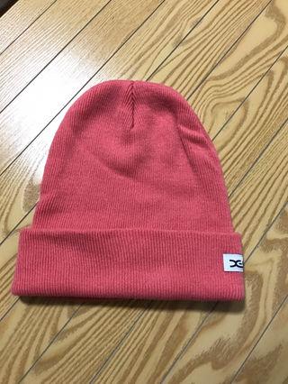 x-girlニット帽!可愛いピンク!美品!!