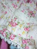 LIZLISA今期 花柄 スカパン 刺繍生地