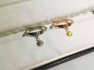 国内発送カルティエ 可愛い 可愛い指輪リング 2色