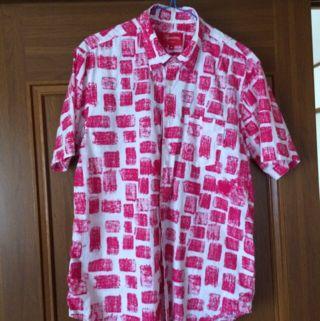 Supreme 14ss Block shirts