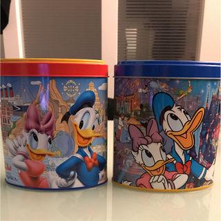 東京ディズニーランドお菓子空き缶2セット
