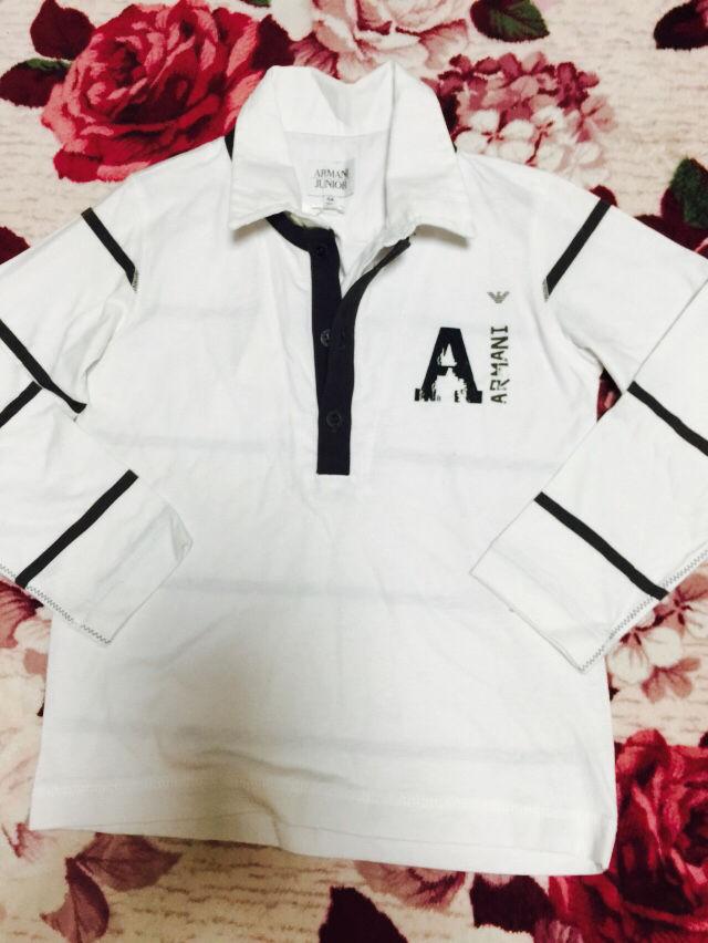 アルマーニジュニアシャツ(Emporio Armani(エンポリオ・アルマーニ) ) - フリマアプリ&サイトShoppies[ショッピーズ]