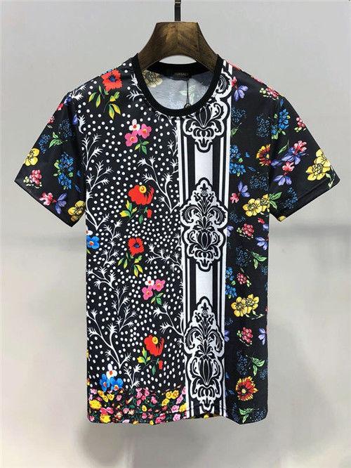 19SS爆売ベルサーチ Tシャツ メンズ M-3XL(Versace(ベルサーチ) ) - フリマアプリ&サイトShoppies[ショッピーズ]