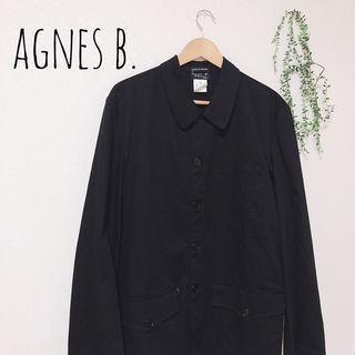 agnes b. ステンカラーコート