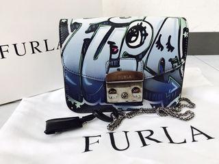 FURLA限定レアデザインbag定価56160