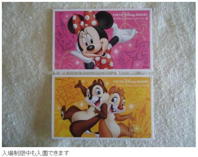【即売!】ディズニー パスポート 2枚組