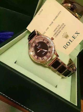 超美品 rolexロレックス腕時計 ダイヤ ウォッチ