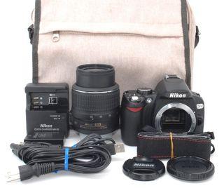 簡単操作初心者様に大人気Nikon D60 レンズキット
