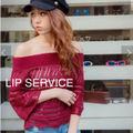 LIP SERVICE トップス