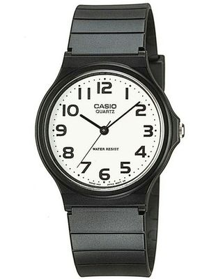 CASIO カシオ腕時計 アナログ 黒チープカシオ チプカシ