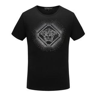超人気 ヴェルサーチ Tシャツ 2色 国内発送