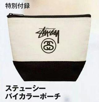 ☆ステューシー☆バイカラーポーチ☆