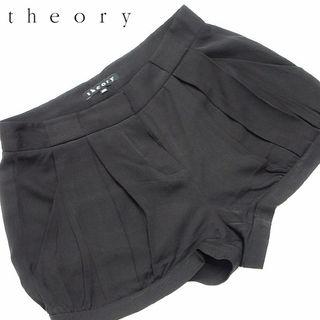 美品!! theory セオリー シルクショートパンツM69