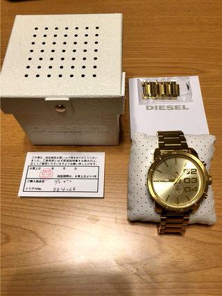 ディーゼル時計、ゴールド
