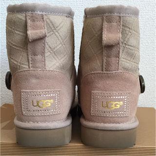【美品】UGG ブーツ スワロフスキームートンブーツ