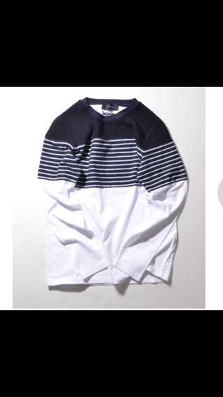 SHIP JET BLUE シップス Tシャツ トップス