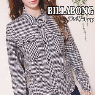 BILLABONGチェックシャツ