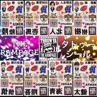 【1枚580円】THE RAMPAGE タトゥーシール