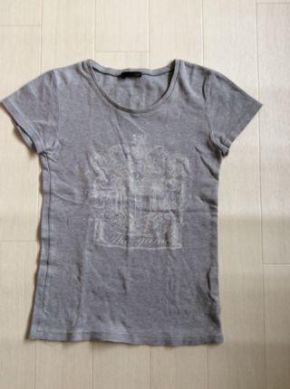 NINE プリントTシャツ