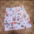 セシルマクビー花柄ミニスカート
