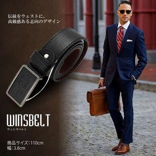 ウィンズベルト ブラック メンズ ビジネス オシャレ 男性用