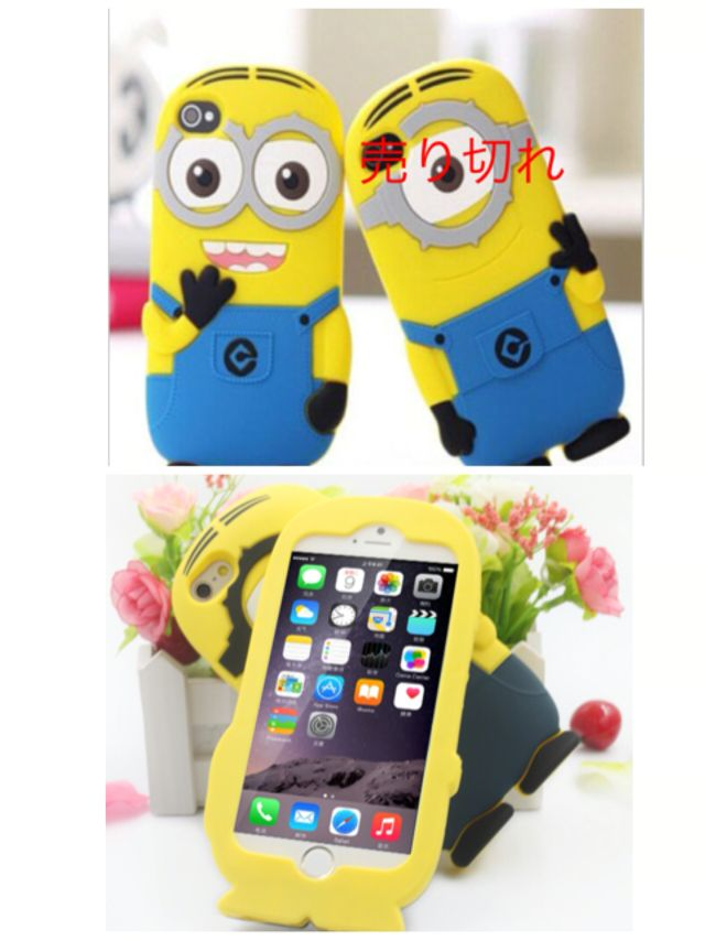 defea5627a iPhone6ケースミニオンシリコンケースブルー - フリマアプリ&サイトShoppies[ショッピーズ]