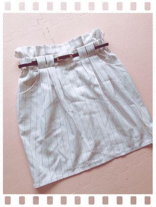 PAGE BOY ストライプタイトスカート