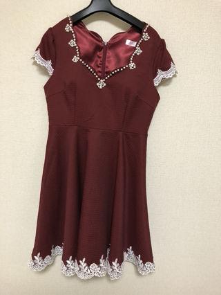 jewelsドレス