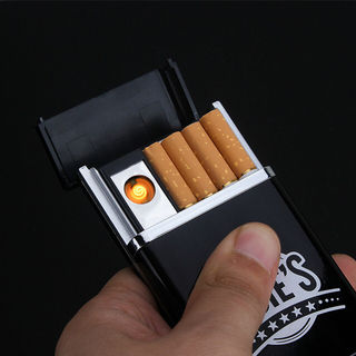 ライター USB充電式 タバコケース