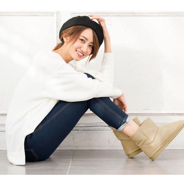 歩きやすさ+オシャレを兼ね備えたムートンブーツ - フリマアプリ&サイトShoppies[ショッピーズ]
