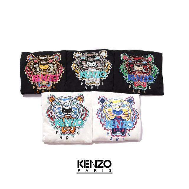 KENZOパーカー 刺繍ロゴ KC-28(KENZO(ケンゾー) ) - フリマアプリ&サイトShoppies[ショッピーズ]