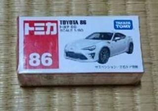 トミカ No.86 トヨタ 86