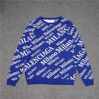 バレンシアガ新入荷パーカー秋冬スウェット上着セーター男女兼用