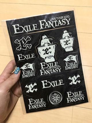 EXILEシール(同梱包+150円)