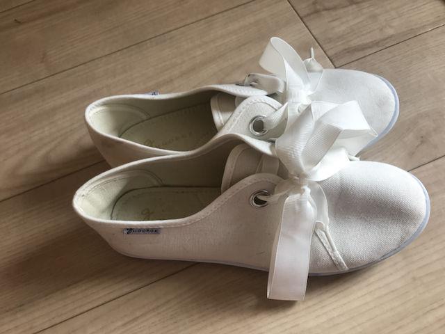 リボン flat shoes