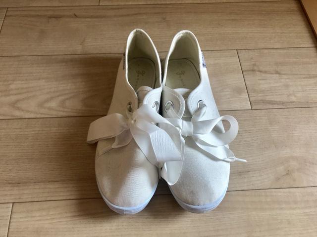 リボン flat shoes - フリマアプリ&サイトShoppies[ショッピーズ]